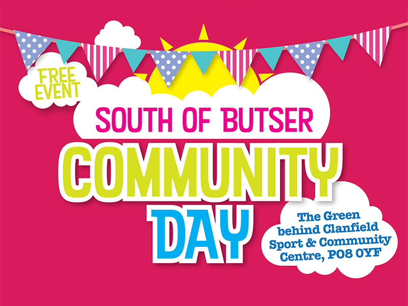 South of Butser Community Day Flyer
