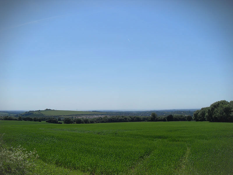 Fields around Clanfield