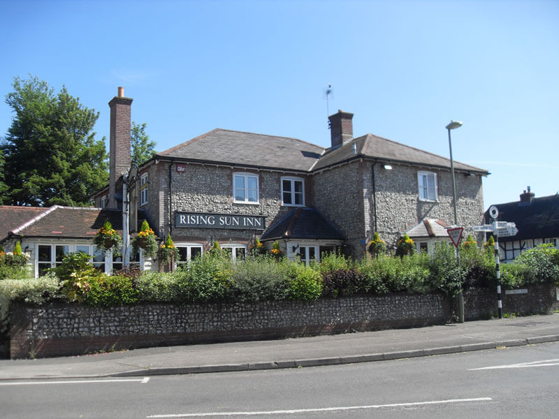 View of The Rising Sun Pub